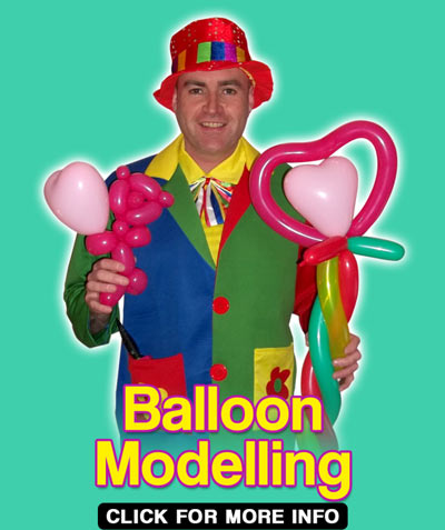 Balloon Modelling Clown