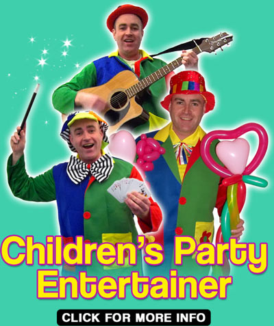 Adams Amazing Parties Childrens Party Entertainer London - Childrens birthday party entertainers london